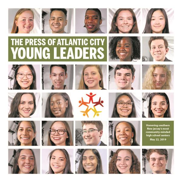 Two ACHS students honored at Press of Atlantic City Young Leaders Awards 2019