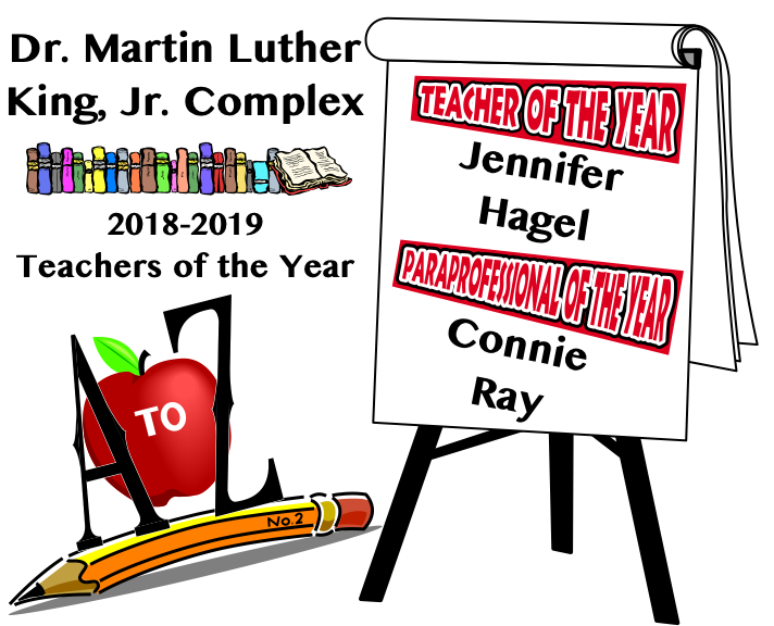 Dr. Martin Luther King, Jr. Teachers of the Year 2018-2019