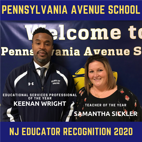 NJ Educator Recognition 2020
