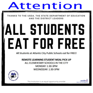 All Students Eat For Free