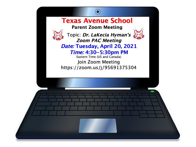 Click HERE for the PARENT PAC ZOOM MEETING with DR. HYMAN
