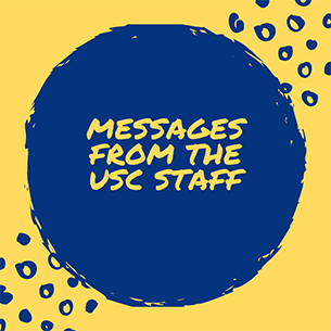 USC Staff Message to Students