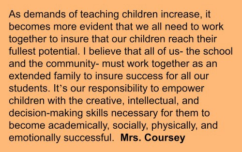 Mrs. Coursey's Statement