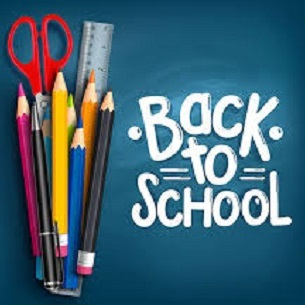 Back to School Image pens, pencils scissors