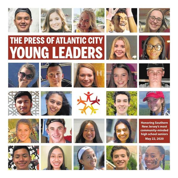 Two ACHS students honored at Press of Atlantic City Young Leaders Awards 2020