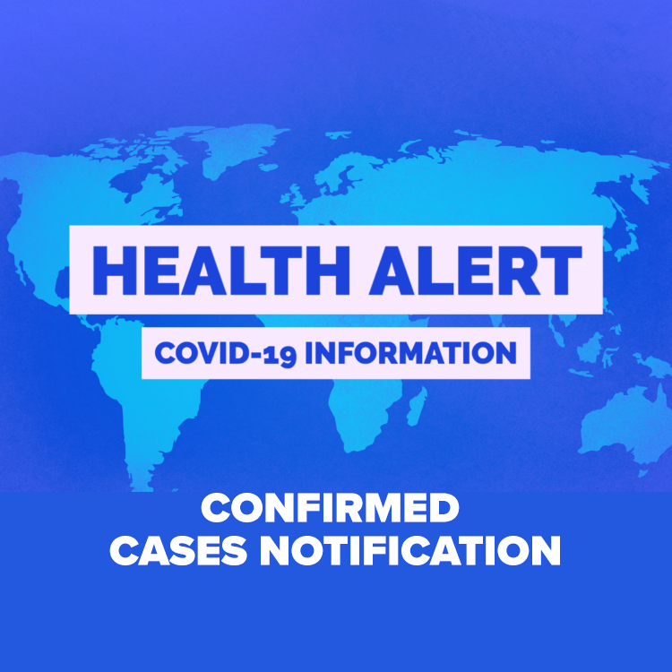 ACHS Confirmed Covid-19 Case Notification