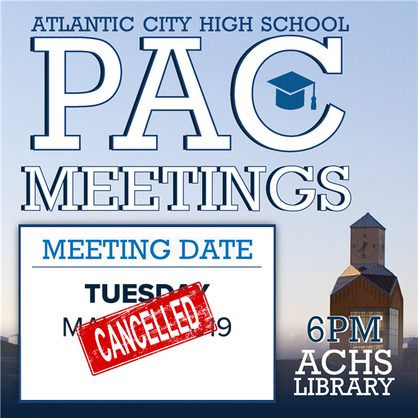 ACHS PAC Meetings