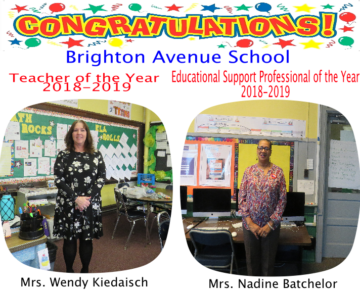 Teachers of the Year 2018-2019